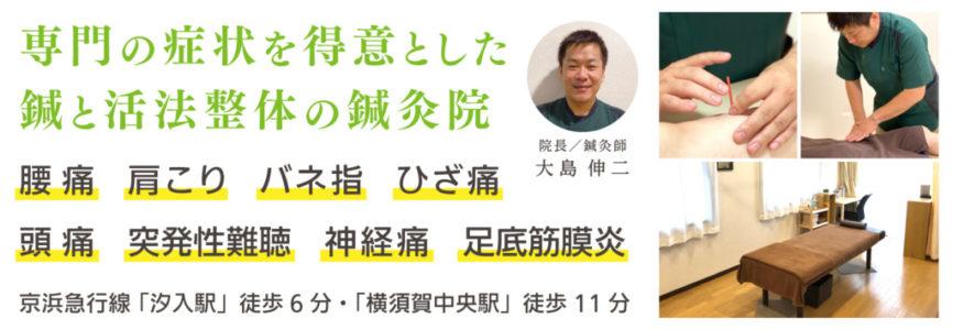 横須賀市の鍼灸整体院 | しん鍼灸院